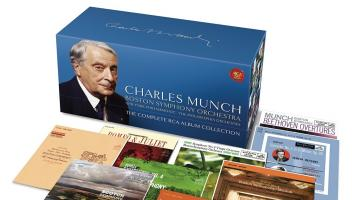 Charles Munch – The Complete RCA Album Collection (86 CDs). RCA Red Seal (Sony Classical)