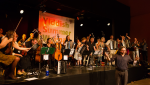 The dance band at Yiddish Summer Weimar. Foto: Felikss Livschits