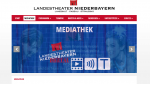Mediathek des Landestheaters Landshut. Screenshot.
