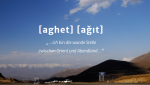 Aghet - agit. Illustration